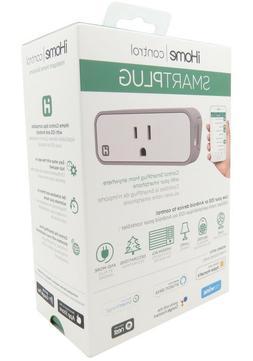 New iHome Control Wi-FI Smartplug ISP6X Works with Alexa Goo