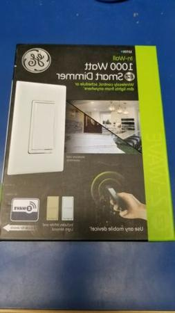 NEW In-Wall EZ Smart 1000 WATT DIMMER 12725 White/Almond Roc