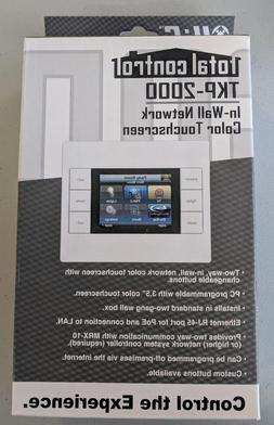 NEW URC Total Control TKP-2000 In-Wall Network Color Touchsc