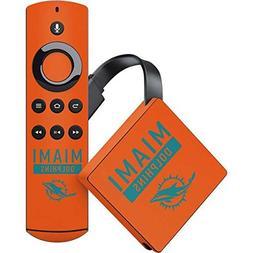 Skinit NFL Miami Dolphins Amazon Fire TV Skin - Miami Dolphi