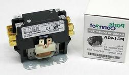 PC140A Contactor Single One 1 Pole 40 Amps 24 Volts A/C Air