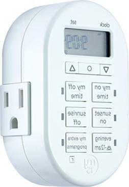 myTouchSmart Programmable Indoor Digital Timer, Plug In, 1 O