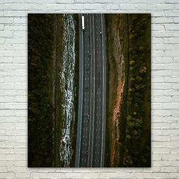 Westlake Art Poster Print Wall Art - Water Tree - Modern Pic