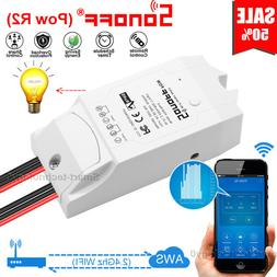 Sonoff POW R2 Timer Energy Power Monitoring Consumption Timi