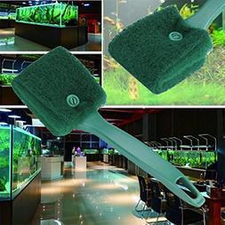 LtrottedJ Practical Aquarium Plant Algae Cleaner ,Glass Fish
