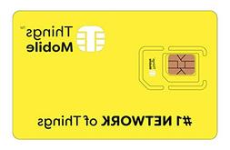 Things Mobile Prepaid SIM Card for IOT and M2M with Global C