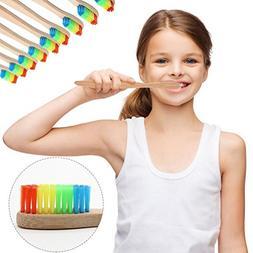 LiPing Rainbow Bamboo Soft Fibre Whitening Brush for Adults