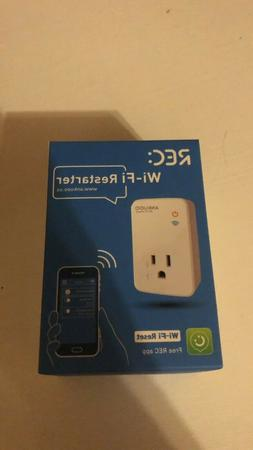 Ankuoo REC Lite White Wi-Fi Smart Plug with Push Notificatio