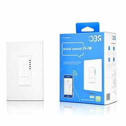 Ankuoo REC Wi-Fi Dimmer Smart Light Switch, Works with Alexa