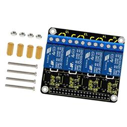 MagiDeal 5V 4-Channel Relay Board Module for Raspberry Pi A+