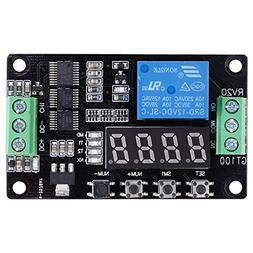 Relay Cycle Timer - SODIAL 12V Multifunction Relay Cycle Tim