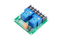 2-Channel Relay Module High / Low Level Triggering Optocoupl