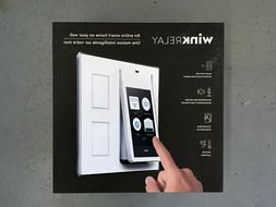 Wink Relay Smart Home Touchscreen Control Panel Brand New