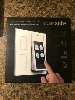 Wink Relay Smart Home Touchscreen Control Panel White
