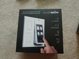 Wink Relay - Smart Home Wall Controller Touchscreen White NE