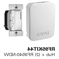 EATON RF95KIT44 Home Automation Hub with 2 Z-Wave Dimmers Wh
