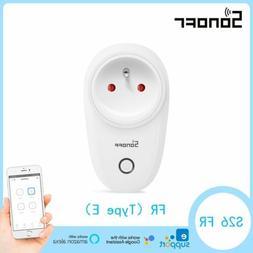 Sonoff S20 FR Smart Home Plug Power Socket 10A Wireless APP