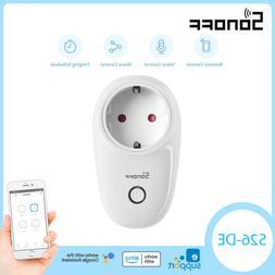 Sonoff S20 EU Smart Plug WIFI Power Socket Wireless APP Timi