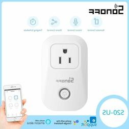 Sonoff S20 WIFI Smart APP Remote Control Timer Socket US Plu