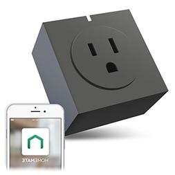 Zettaguard S31-Grey Wi-Fi Smart Plug Outlet, Compatible with