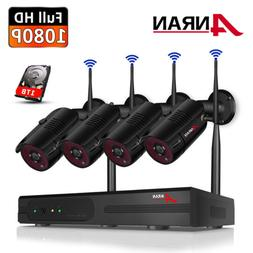 ANRAN Security Camera System Wireless Outdoor Video Home 8CH