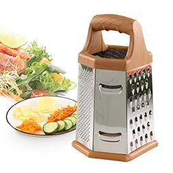 LiPing 8 Inch Six Sided Simple Type Kitchen Graters - Kitche