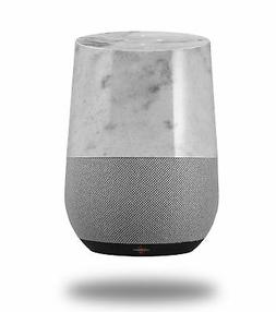 Skin Wrap for Google Home Marble Granite 07 White Gray by Wr