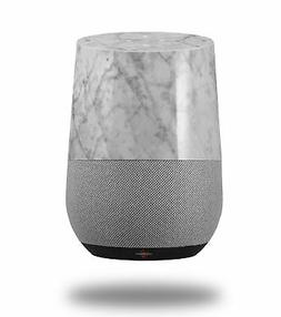 Skin Wrap for Google Home Marble Granite 09 White Gray by Wr
