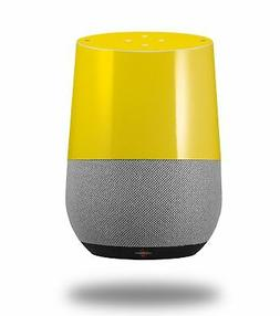 Skin Wrap for Google Home Solids Collection Yellow by Wrapto