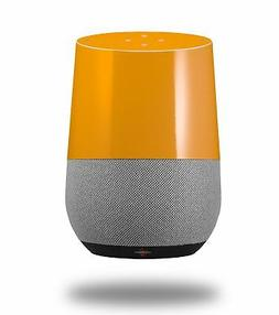 Skin Wrap for Google Home Solids Collection Orange by Wrapto