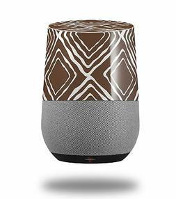 Skin Wrap for Google Home Wavey Chocolate Brown by WraptorSk
