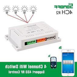 Smart Sonoff 4CH Pro R2 Smart Switch 4 Channels 433MHz 2.4G