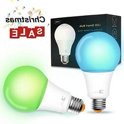 Smart Bulb,Wi-Fi Smart Led Light Bulb  Compatible Amazon Ale