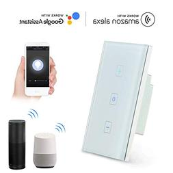 Teepao Smart Dimmer Switch, Wireless Wifi Touch Dimmer Wall