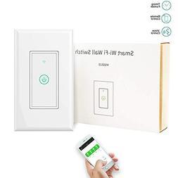 Smart Light Switch/Wifi Smart remote light switch - Wall Tou