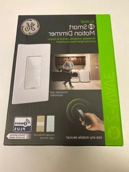 GE- Smart Motion Sensor Dimmer, Wave Plus, Wall Switch