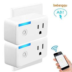 Smart Plug, Tonbux Upgrade Wifi Switch Outlet Mini with Ener