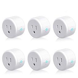 Smart Plug, Lightstory Mini Smart Outlet, WiFi Enabled Smart