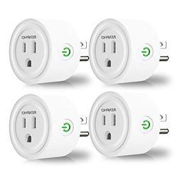 RENPHO Smart Plug, Mini Wireless Smart Socket Wifi Outlet Co