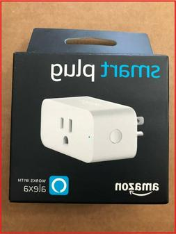 Amazon Smart Plug White Works with Alexa Voice Control Elect