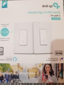 Smart Wi-Fi Light Switch, 3-Way Kit by TP-Link - Control Lig