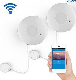 Coolcam Smart Wi-Fi Water Sensor, Flood and Leak Detector Al