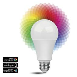 Smart WiFi LED Light Bulb - Wireless Multicolored Home Autom