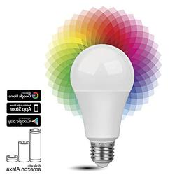 TNP Smart WiFi LED Light Bulb - Wireless Multicolored Home A