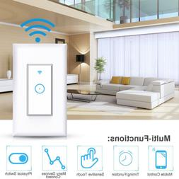 Smart WiFi Light Switch in Wall - Compatible With Amazon Ale