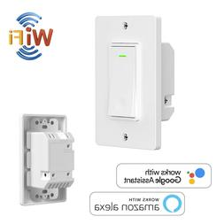Smart WiFi Switch in Wall Smart Home Automation Wireless Rem