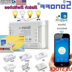 Sonoff 4CH Channel Remote Ctrl Smart WiFI Switch Home Automa
