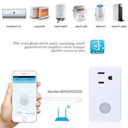 Broadlink SP3S Smart Socket WIFI Outlet Plug Remote Timer Ho