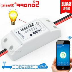 Sonoff Switch Relay Module Timer Smart WiFi Wireless Remote