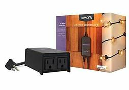 iDevices Outdoor Switch Wi-Fi Plug for Outdoor Use Works wit